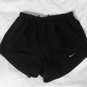 Nike Tempo Shorts Size S All Black